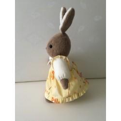 Broodmandje van blauw-wit ruitje en kobalblauwe katoen€14,95