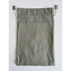 Mondkapje van katoen Delftsblauw bloemmotief €8,95